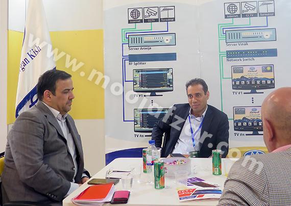 شرکت موج افزار مهرگان کیش در اولین نمایشگاه بین المللی اقتصاد و سرمایه گذاری گردشگری تهران شهریور 97